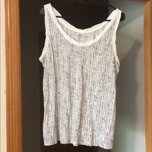 Herringbone tank top from the Loft never worn